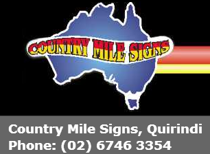 Country Mile Signs